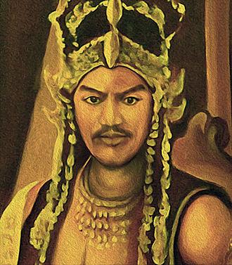 King Siliwangi - A depiction of King Siliwangi in Keraton Kasepuhan Cirebon.