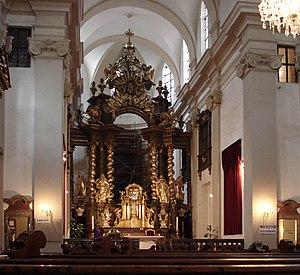 Church of Our Lady Victorious - Main altar