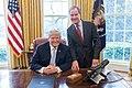 President Donald Trump with Bill Schuette.jpg