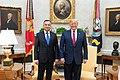 President Trump Meets with President Duda of Poland (48051964246).jpg