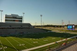 Ken Pridgeon Stadium - Pridgeon Stadium before a game in 2016.