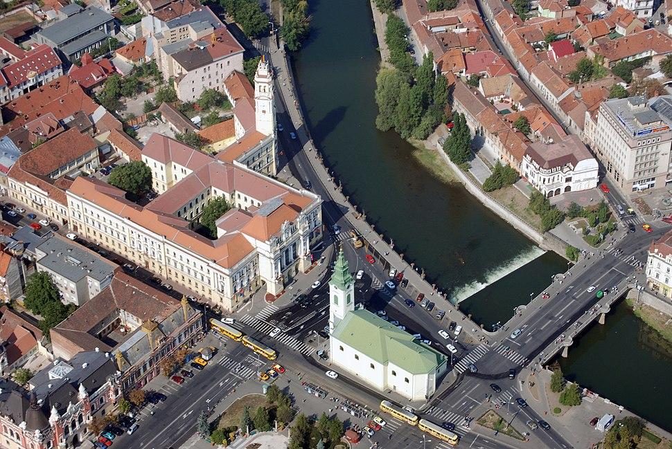 Primăria și Centrul Municipiului Oradea