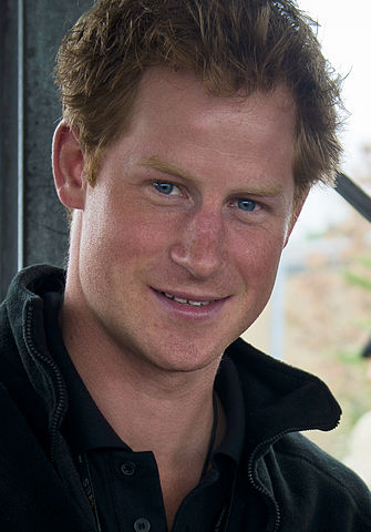 Prince Harry during the Invictus Games, September 2014