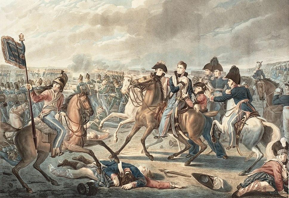 Prince William of Orange gets wounded at the shoulder