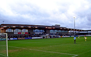 Princes Park (Dartford) - Image: Princes Park, Dartford, South Stand
