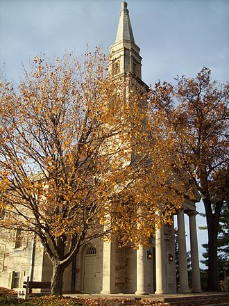 Elsah, Illinois - Principia College Chapel