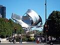 Pritzker Pavilion band shell Millennium Park Chicago.JPG