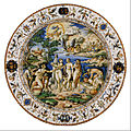 Probably the workshop of Orazio Fontana - The Judgment of Paris - Google Art Project.jpg