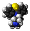 Promethazine molecule spacefill.png