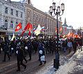 Protestors march by main street of city, Nizhny Novgorod, 4 February.jpg
