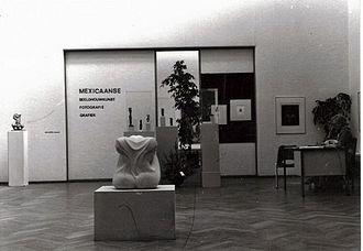 Pulchri Studio - Exhibition of sculpture by Mexican artist Abel Ramírez Águilar.