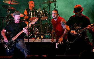 Puya (band) - Image: Puya (band) Sept 25, 2010, San Juan Puerto Rico