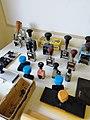 Pyhäkosken voimalaitoksen museossa leimasimet.jpg