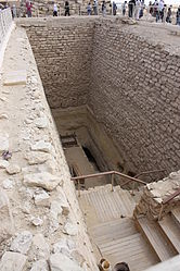 Pyramid of Djoser excavation.jpg