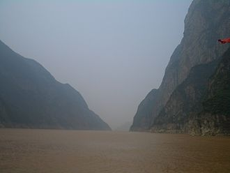 Zigui County - In the Xiling Gorge in the western part of Zigui County