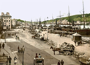Waterford quay, 1890s