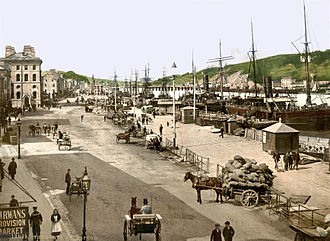History of Waterford - The quay at Waterford c. 1890–1900