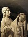 Quimperlé (29) Abbatiale Sainte-Croix Mise au tombeau 07.JPG