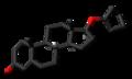Quinbolone molecule skeletal.png
