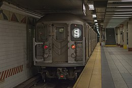 R62A Subway Car, 1950, Shuttle, September 5th, 2014.jpg