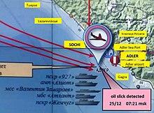 2016 Russian Defence Ministry Tupolev Tu-154 crash - Wikipedia
