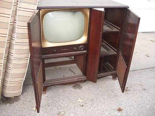 RCA Victor TV cabinet