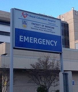 Royal Columbian Hospital Hospital in British Columbia, Canada