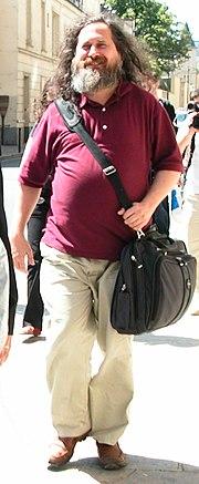 Richard Stallman en juin 2006
