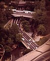 ROCK CREEK PARKWAY BELOW OVERPASSES. A SCENIC ROUTE THROUGH THE PARK, IT ALSO SERVES AS A MAJOR TRAFFIC ARTERY - NARA - 546722 cropped.jpg