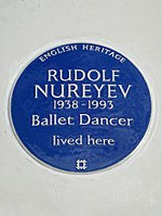 RUDOLF NUREYEV 1938-1993 Ballet Dancer lived here.jpg