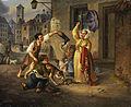 R Ostermayer Münchner Szene 1846.jpg