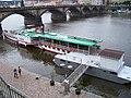 Rašínovo nábřeží a Palackého most, parník Vltava (01).jpg