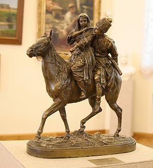 Kasli iron sculpture - Image: Radishchev Art Museum 10