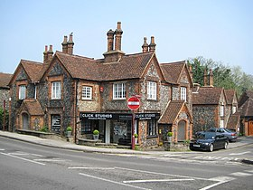 Radlett, Flint Cottages - geograph.org.uk - 1262961.jpg