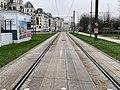 Rails Tramway IdF Ligne 6 Avenue Général Gaulle - Clamart (FR92) - 2021-01-03 - 1.jpg