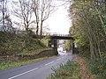 Railway Bridge, Wortley Road, Deepcar - 2 - geograph.org.uk - 1571857.jpg