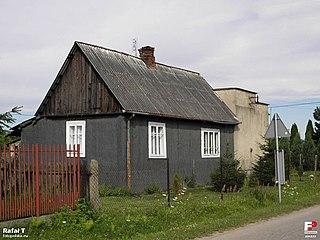 Rajec Poduchowny Village in Masovian Voivodeship, Poland