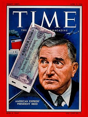 Ralph Reed (American Express) - Ralph Reed on the cover of Time (April 9, 1956)