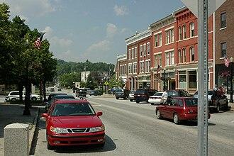 Randolph, Vermont - Downtown Randolph
