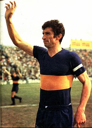 Antonio Rattín - Rattín with Boca Juniors c 1969