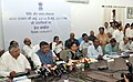 Ravi Shankar Prasad addressing a press conference on the achievements and new initiatives undertaken by the Ministry of Law & Justice, in New Delhi (1).jpg