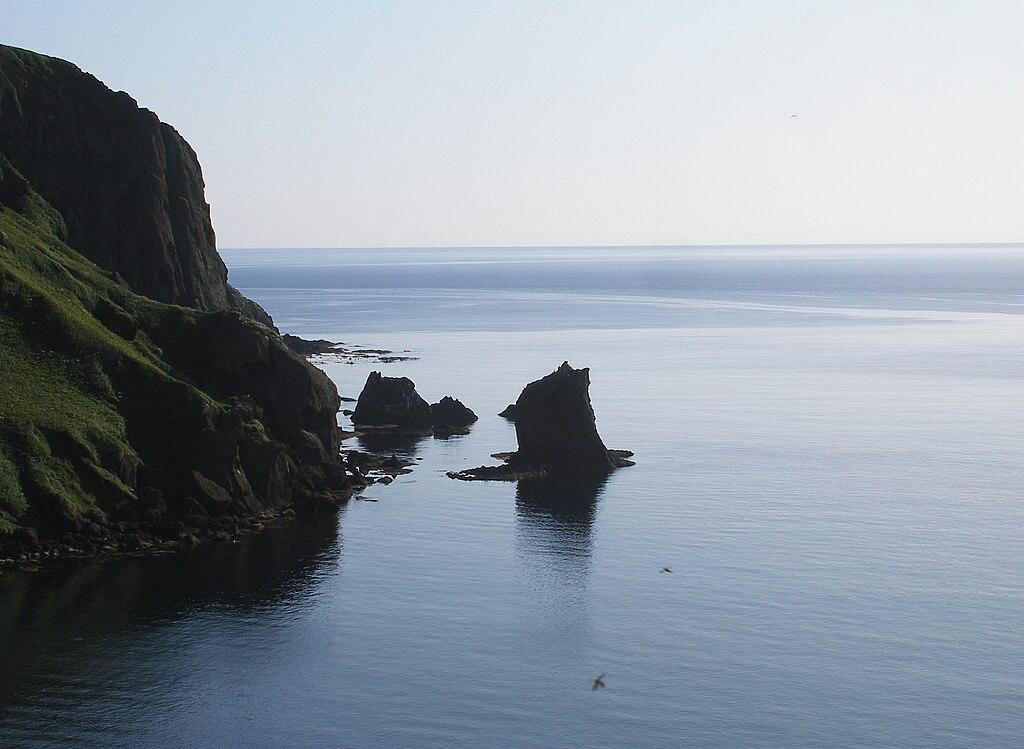 Rebun Island Cat Rock