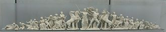 History of Athens - The contest of Athena and Poseidon, West Pediment of the Parthenon