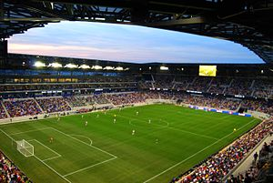 Major League Soccer - The 2010 season also brought the opening of the New York Red Bulls' soccer-specific stadium, Red Bull Arena.