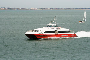 Red Funnel - Red Jet 3 in June 2013