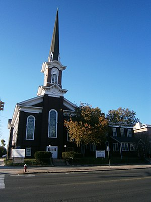 First Reformed Dutch Church of Bergen Neck - Image: Reformed Church of Bergen Neck