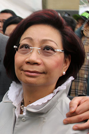 Regina Leung - Regina Leung at the Chinese New Year market at Victoria Park, Hong Kong in 2013