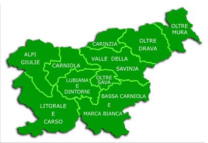 Cartina Stradale Della Slovenia.Slovenia Wikivoyage Guida Turistica Di Viaggio