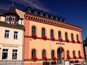 Reichenbach im Vogtland - Rathaus (city hall)