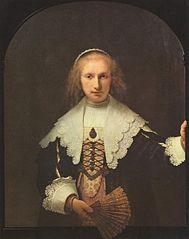 Portrait of Agatha Bas